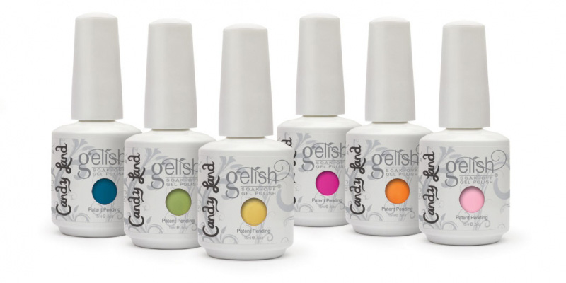 Gelish Gel Nail Polishes