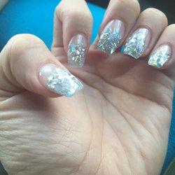 Glitter Nail Art By Your Nails & Spa of Phoenix